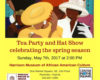 Tea Party and Hat Show